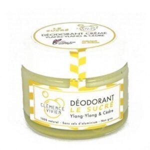 Desodorante en crema Ylang Ylang y cedro Clemence and Vivien