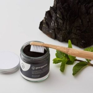 Polvo dientes blanqueador carbón activado natural Georganics