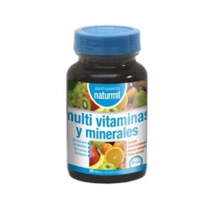 Multivitaminas y minerales 30 perlas Dietmed