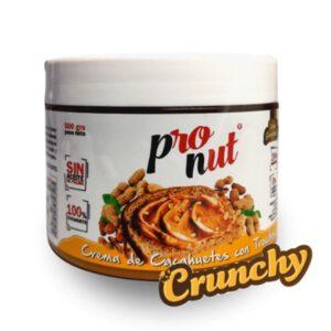 Crema de cacahuetes con trocitos  500 gramos Protella