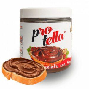 Crema de chocolate con avellanas 250 gramos Protella