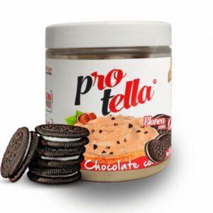 Crema blanca con galleta 250 gramos Protella