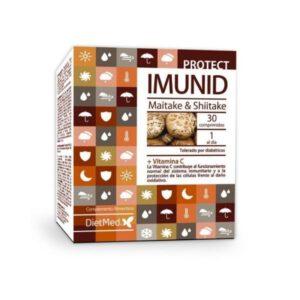 Imunid Maitake y Shitake 30 comprimidos Dietmed