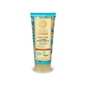 Exfoliante para el cuero cabelludo con hidrolato de espino amarillo de espino amarillo orgánico 200 ml Natura Siberica