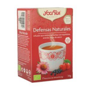 Yogi Tea defensas naturales 17 bolsitas de infusión