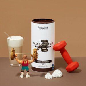 Batido Shake shape 2.0 galleta y crema 900 grs Foodspring