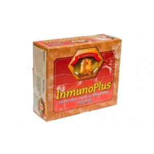 Inmuno plus Jalea real + propolis+ vitamina C + equinacea 20 ampollas Natural E. Company