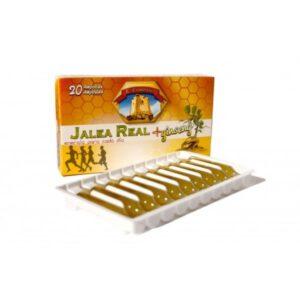 Jalea real 1000 mg + ginseng 500 mg 20 ampollas Natural E. Company