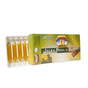 Jalea real 1000 mg + vitaminas 20 ampollas Natural E. Company