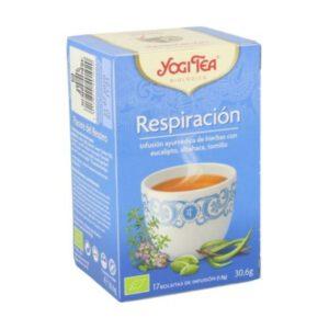 Yogi Tea respiración 17 bolsitas de infusión