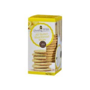 Galletas de mantequilla clásicas 150 gramos Grandma Wilsd´s