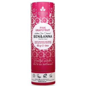Desodorante en Stick pink grapefruit 60 grs Ben & Anna