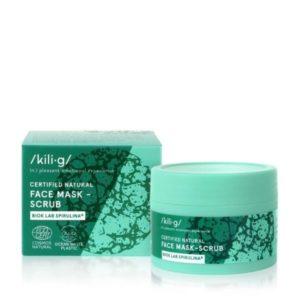 Mascarilla facial natural con espirulina ecológico y vegano 60 ml Kili.g