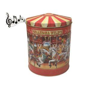 Carrusel musical galletas con chocolate 300 gramos Grandma Wild´s