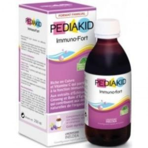 Pediakid Inmuno Fort jarabe 250 ml tamaño ahorro Laboratorios Ineldea