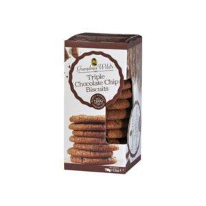 Galletas triple chocolate 150 gramos Grandma Wilsd´s