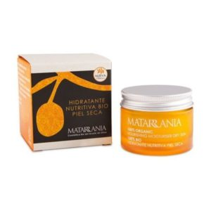 Crema hidratante nutritiva piel seca 100% BIO Matarrania