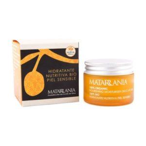 Crema hidratante nutritiva piel sensible 30 ml 100% BIO Matarrania