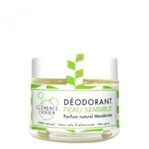 Desodorante en crema mandarina Unisex Clemence and Vivien