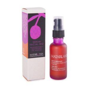 Serum facial natural regenerador y reafirmante piel madura 30ml 100% BIO Matarrania