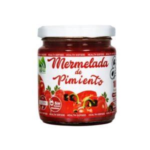 Mermelada de Pimiento Sin azúcar añadido sin gluten 250 g Go Food
