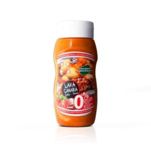 Salsa Lava Canaria 350 ml Vegano Sin glúten Sin lactosa Saludable 100% Natural 0% azúcares Go food