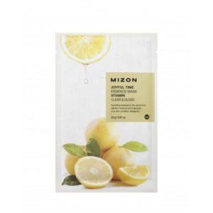 Mascarilla facial esencia de vitaminas relax Pieles apagadas, con falta de luminosidad Mizon Miin