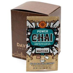 Chai Power Matcha Vegano Sin Lácteos 1 SOBRE 18 gr David Rio