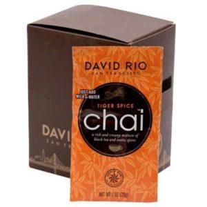 Chai tiger spice 1 SOBRE 18 gr David Rio