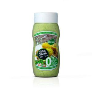 Salsa suave Volcán Canario 350 ml Vegano Sin glúten Sin lactosa Saludable 100% Natural 0% azúcares Go food