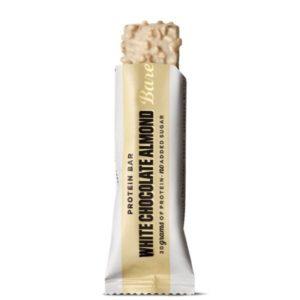 Barrita proteica sabor chocolate blanco con almendras 55 grs Barebells