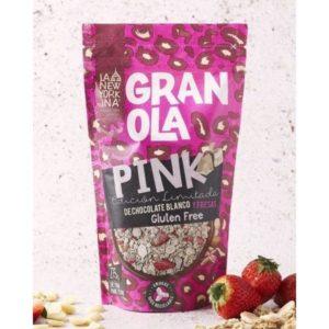 Granola Pink chocolate blanco y fresas 275 grs La Newyorkina