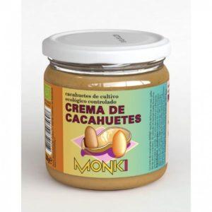 Crema de cacahuete Bio 330 gramos Monki