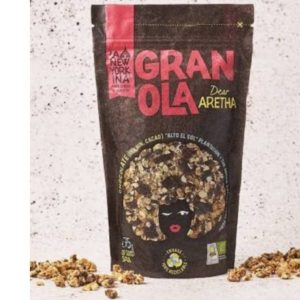 Granola Dear Aretha Chocolate negro 275 grs La Newyorkina