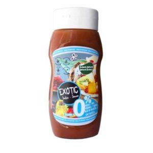 Salsa Exotic 350 ml Vegano Sin glúten Sin lactosa Saludable 100% Natural 0% azúcares Go food