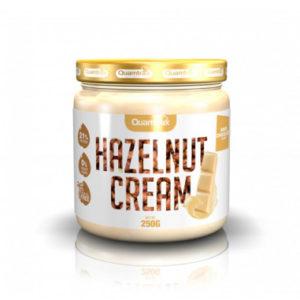 Crema para untar chocolate blanco y cacahuete Sin azúcar añadido 250 grs Quamtrax