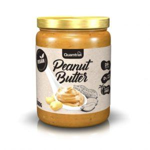 Crema de cacahuete 500 grs sin azúcares añadidos sin gluten apto veganos Quamtrax