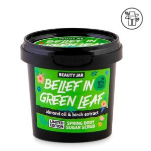 Exfoliante corporal spring Almendras y Abedul 115 ml Beauty Jar