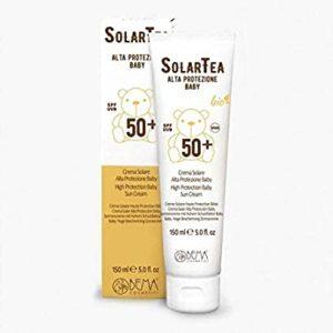 Crema Solar Alta Protección para bebés SPF50