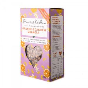 Muesli Naranja y Anacardos 300gr Primrose`s Kitchen