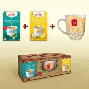Set Regalo Infusiones Yogi Tea Con Taza Edición Limitada