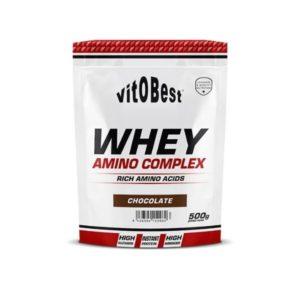 Proteína Whey amino complex 500 grs sabor chocolate vitOBest
